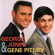 George Jones & Gene Pitney by Gene Pitney/George Jones (CD, Nov-1994, Bear...