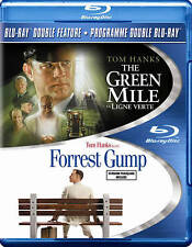 Tom Hanks Double Feature The Green Mile / Forrest Gump~Blu-ray~ No Slip Cover
