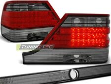 NEW TOP SET TAIL LIGHTS LDME31 MERCEDES W140 95-10.98 RED SMOKE LED