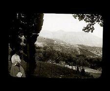 Croatie c. 1900 - BRENO Environs de Raguse - Verre Positif - 72