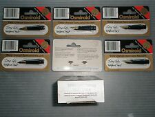 OSMIROID long life tipped NIB,new,(6)w/box,code 19516,England,easy change,DEAL.