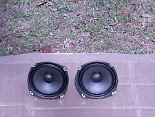 Pair Of 8 ohm Sony 4 5/8 '' Full Range Speakers are  In Good Working Condition!