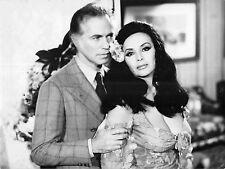 """ISABEL SARLI & JORGE BARREIRO in """"El Sexo y el Amor"""" Original Vintage Photo 1974"""