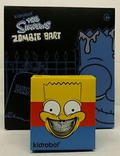 "Kidrobot The Simpsons Vinyl Bart 2-Pack: 6"" Zombie and 3"" Grin Mint Unopened"