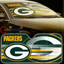 NBA Green Bay Packers Car Windshield Front Window Sun Shade Auto Accessory