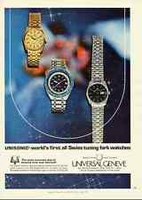1979 vintage ad, UNISONIC WATCH by Universal Geneve-102812