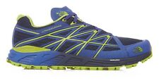 The North Face Men's Ultra Endurance Shoes Size 7.5 Cosmic Blue Macaw Green