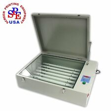 "UV Exposure Unit Screen Printing Plate Making Silk Screening DIY 110V 20""X24"""