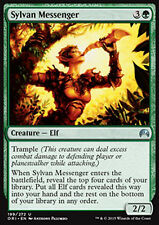 MTG 2x SYLVAN MESSENGER - MESSAGGERO SILVANO - ORI - MAGIC