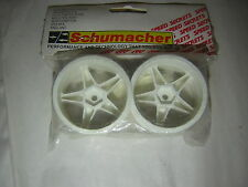Schumacher U2001A  WHEEL 5 Spoke 25 190 white  SST  rc part  vintage 1/10 tamiya
