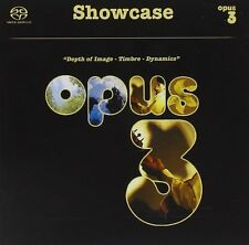 Showcase (Acoustic Music in AUTHENTIC sugli ambienti) - Opus 3 SACD 21000