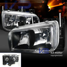Cadillac 1999-2000 Escalade Euro Black Diamond Headlights