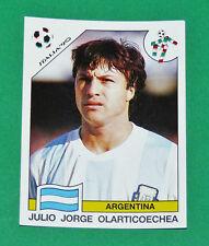 N°122 OLARTICOECHEA ARGENTINA PANINI COUPE MONDE FOOTBALL ITALIA 90 1990 WC WM
