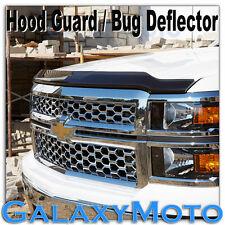 14-15 Chevy Silverado 1500 Black Smoke Hood Shield Guard Bug Deflector 2015