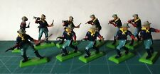 Britains Old  1/32 54mm 7th Cavalry 11 PIEZAS  VER FOTO