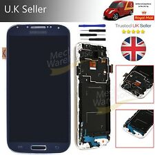 For Black Samsung Galaxy S4 i9505 i9508 LCD Display Digitizer Touch Screen Frame