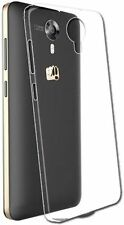 For Micromax Canvas Xpress 2 E313 Soft Jelly Back Cover Transparent Clear