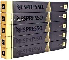 50 New original Nespresso Vanilio Vanilla flavour coffee Capsules Pods UK