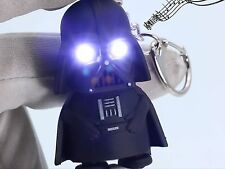 Light Up LED Star Wars Darth Vader With Sound Flashlight Torch Keychain Keyring