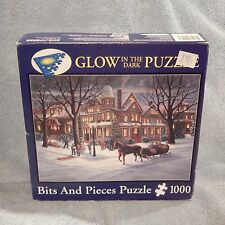 1000 Piece Glow In The Dark Puzzle, Victorian Christmas By Bits & Pieces