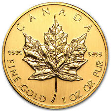 2002 Canada 1 oz Gold Maple Leaf BU - SKU #77414