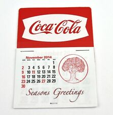 Coca Cola Coke USA Calendrier 2015 calendrier - Queue de poisson Logo blanc