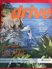 SUBARU DRIVE MAGAZINE SPRING 2015 JOURNEY TO ESALEN FIND YOUR BALANCE