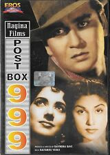 POST BOX 999 - SUNIL DUTT - NEW EROS BOLLYWOOD DVD - FREE UK POST
