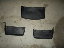 1985 Honda ATC Big Red 250 Left Right Front Rear Mud Flaps