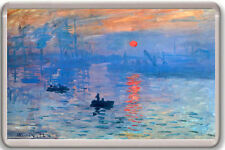 CLAUDE MONET - IMPRESSION SUNRISE 1872 FRIDGE MAGNET IMAN NEVERA