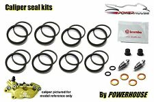 Aprilia RS250 1997 Brembo front brake caliper seal repair kit