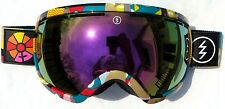 $190 Electric EG2.5 WILD Mens Winter Ski Goggles Pink Chrome smith uvex Spy Lens