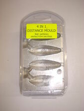 4 IN 1 DISTANCE CASTING  MOULD 3 OUNCE (approx) LONG CASTING SHAPED WEIGHT