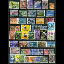 SINGAPORE & MALAYSIA. Selection. 50 Values. Condition Varies. (AM310)