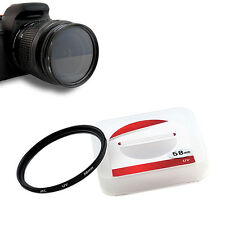 JYC 58mm Super Slim Digital UV Filter Lens Protector for Canon