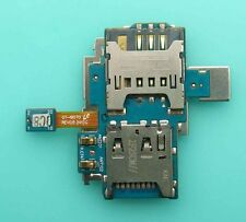 Sim Card Holder SD Memory Slot Reader Flex For Samsung Galaxy S Advance i9070