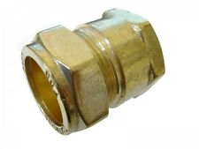 28mm Compression x 1 Inch BSP Female Iron Adaptor / Coupler | Brass Fitting