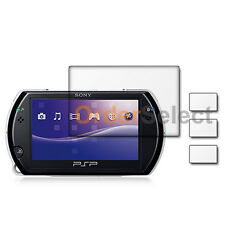 3X New Clear LCD Screen Shield Guard Protector for Sony Playstation PSP GO