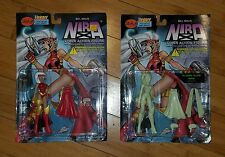 Skybolt Toyz Nira-X Action Figure Plasma Glow Variant lot of 2 Figures