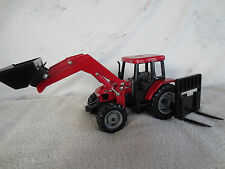 ERTL 1/32 SCALE DIECAST CASE IH CX90 LOADER FARM TOY TRACTOR