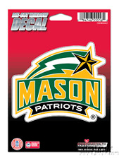 "George Mason Patriots 5"" Flat Vinyl Die Cut Decal Sticker Emblem University of"