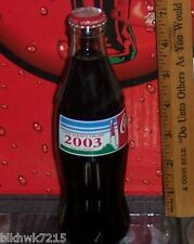 2003 NEW JERSEY SHORE 8 OUNCE GLASS COCA COLA BOTTLE