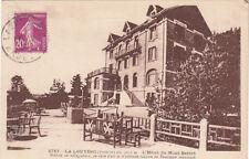 LA LOUVESC 8717 l'hôtel du mont besset timbrée