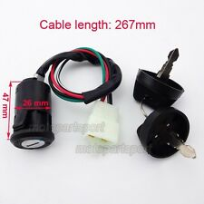 ATV Ignition Key Switch For Bashan Shineray Shenke Eagle 250cc Quad 4 Wheeler