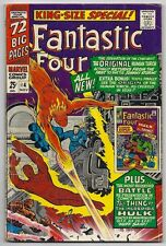 (1966) FANTASTIC FOUR KING-SIZE SPECIAL #4 HULK Vs THING! TORCH VS HUMAN TORCH!
