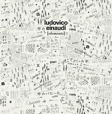 LUDOVICO EINAUDI ELEMENTS CD - NEW RELEASE OCTOBER 2015