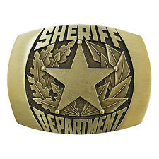 Sheriff Department Belt Buckle OBM171 IMC-Retail