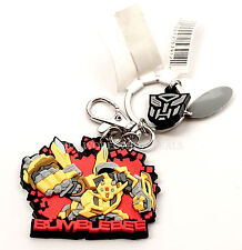 NEW Universal Studios Transformers Bumblebee Rubber Keychain / Key Ring