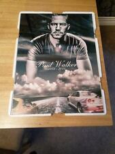 Fast and Furious Paul Walker Rip a4 incorniciato stampa/poster