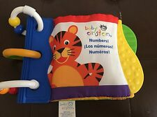 Baby Einstein Numbers Cloth Activity Book